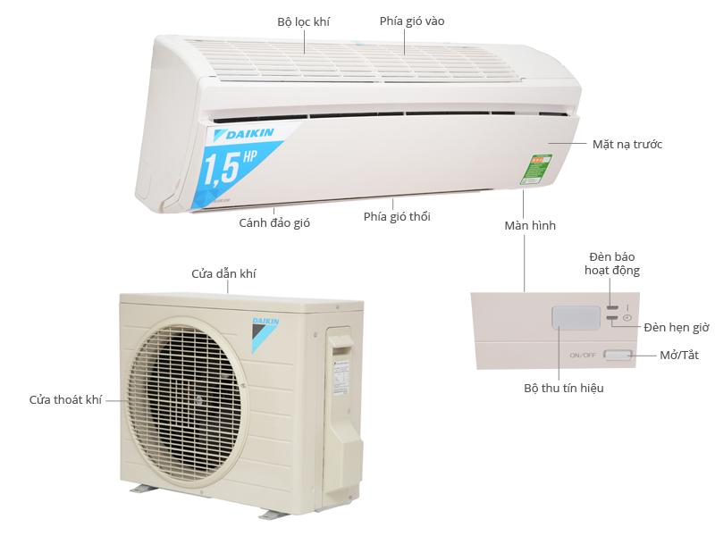 lắp đặt máy lạnh Daikin