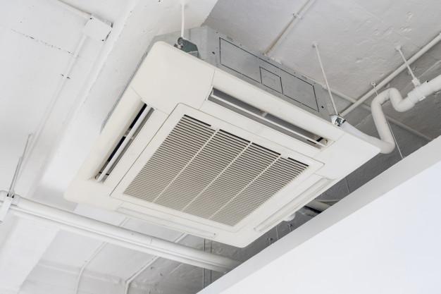lắp máy lạnh âm trần cho công ty