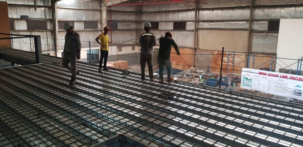 thi công lắp đặt panel cho công trình xây dựng tại Cần Thơ